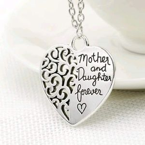 Jewelry - Mother and daughter forever necklace 2 available